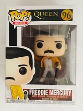 "Wembley 1986 3.75/"" POP Figura in vinile ROCKS FUNKO 96 QUEEN FREDDIE MERCURY"