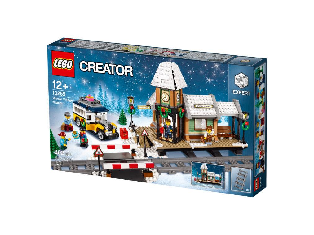 LEGO CREATOR precipitazioni  stazione ferroviaria (10259)  negozio outlet
