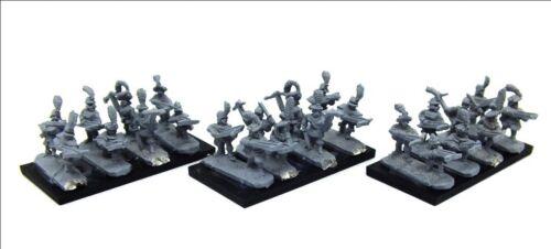 10mm Warmaster Empire Armbrustschützen