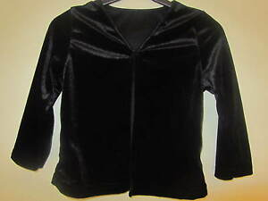 Black-velvet-top-cardigan-3-4-years-ex-BHS-BNWOT
