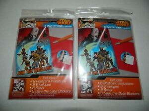 Image Is Loading STAR WARS REBEL Lot Of 2 Packages BIRTHDAY