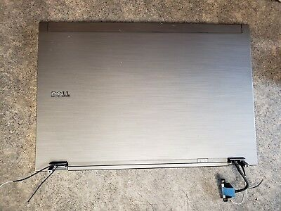 New Dell Latitude E6510 Lcd Back Cover lid /& Hinges 6PF94 NTY6V