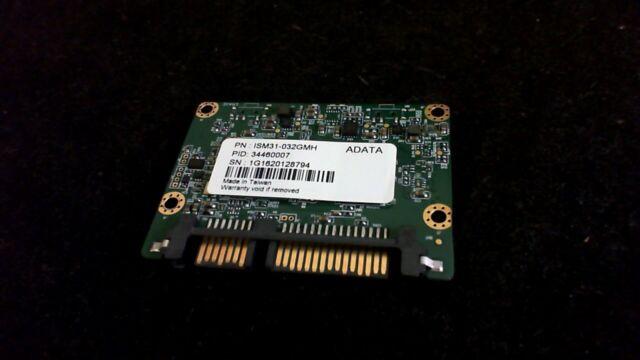 ADATA ISM31-032GMH 32GB SATA SSD -- Tested