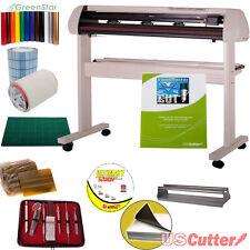 """53"""" Vinyl Cutter BUNDLE Sign Contour Cutting Machine w/Design & Cut Software"""