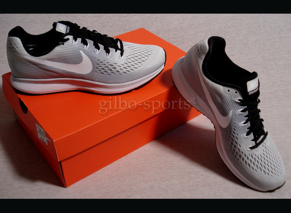 Nike Air Zoom Pegasus 34 to Pure taille Platinum Grey Blanc taille Pure 41 887009 002 Gris 5be225