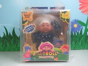 "HOCUS P. POCUS - 5"" Dam Totally Troll Doll - NEW IN PACKAGE - RARE"