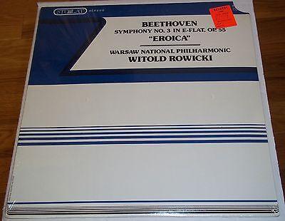 Rowicki BEETHOVEN Symphony No.3 - Stolat SZM 0101 SEALED