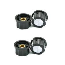 5 sets MF-A03 Knob Cap 6mm Dia hole for Potentiometer //w Dial NEW CK
