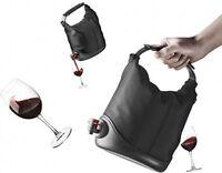Wine In A Box Dispenser, Drinks Party Entertaining Vodka Shots Black on sale