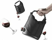 Wine In A Box Dispenser, Drinks Party Entertaining Vodka Shots Black