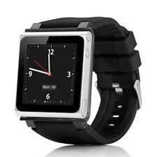 Fashionable Wrist Watch Band Belt Strap for ipod Nano6 Grey