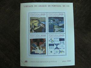 Portugal-Block-49-mit-Mi-Nr-1649-1657-1665-1675-postfrisch