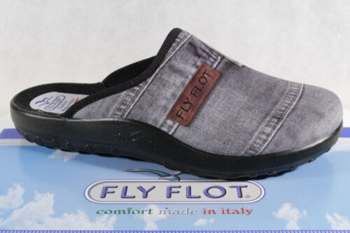 882041 New Fly Flot Men/'s Slipper Grey Jeansvelour