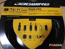 Jagwire Road Pro Complete Road Bike Brake ? Gear Inner and Outer Cable Set BLACK