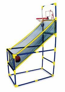 Enfants Intérieur Extérieur Arcade Style Basketball Support Avec Filet Cerceau Cool En éTé Et Chaud En Hiver