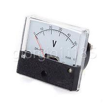 Us Stock Analog Panel Volt Voltage Meter Voltmeter Gauge Dh 670 0 50v Dc
