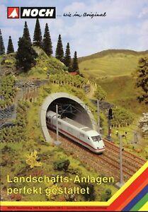 Noch-Hauptkatalog-1995-Landschafts-Anlagen-Modelleisenbahn-Modellbahn-Zubehoer