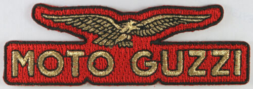 Cafe Racer Bikers Moto Guzzi Motorcycle Patch Italy