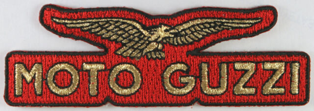 Moto Guzzi Motorcycle Patch, Bikers, Cafe Racer, Italy