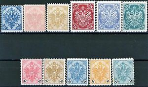 Bosnia 1900 + 1901 Issues MH with 2 Key Stamps Scotts 17-19 22-24 25-29 Cat>$300