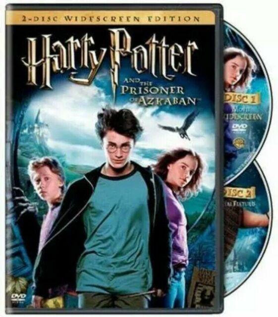 HARRY POTTER AND THE PRISONER OF AZKABAN DVD MOVIE