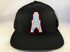 NFL Tennessee Oilers Vintage Snapback Hat Cap American Needle Black
