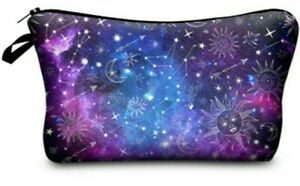 Constellation-Star-Cosmetic-Make-up-Bag-034-Aussie-Seller-034-Pencil-Case-Toiletry-Bag