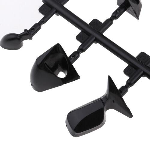 Modifikationsteile für Flügelspiegel im Maßstab 1:10 für RC Drift Rennwagen