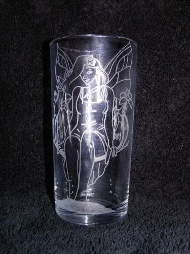 Personnalisé Main Gravé hi-Ball Glass Fairy Nom//Message libre ajoutée