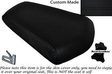 BLACK STITCH CUSTOM FITS SKYJET SJ 125-27 REAR LEATHER SEAT COVER ONLY