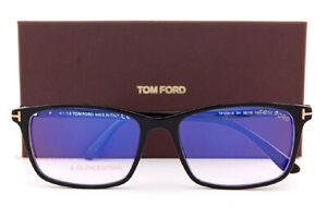 Nuovo-Tom-Ford-Occhiali-da-Vista-Montature-ft-5584-B-001-Nero-Uomo-Misura-56mm