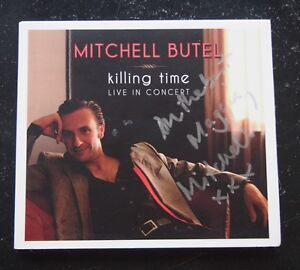 Autographed-CD-Mitchell-Butel-Killing-Time-Live-in-Concert-2011-Digipak