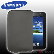 """GENUINE Samsung Galaxy Tab 2 3 4 A 7.0"""" Leather Pouch Carry Case Chocolate"""