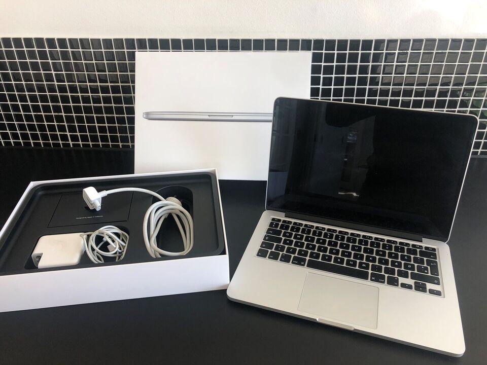 "MacBook Pro, 13"" med retina skærm, 2,4 GHz"