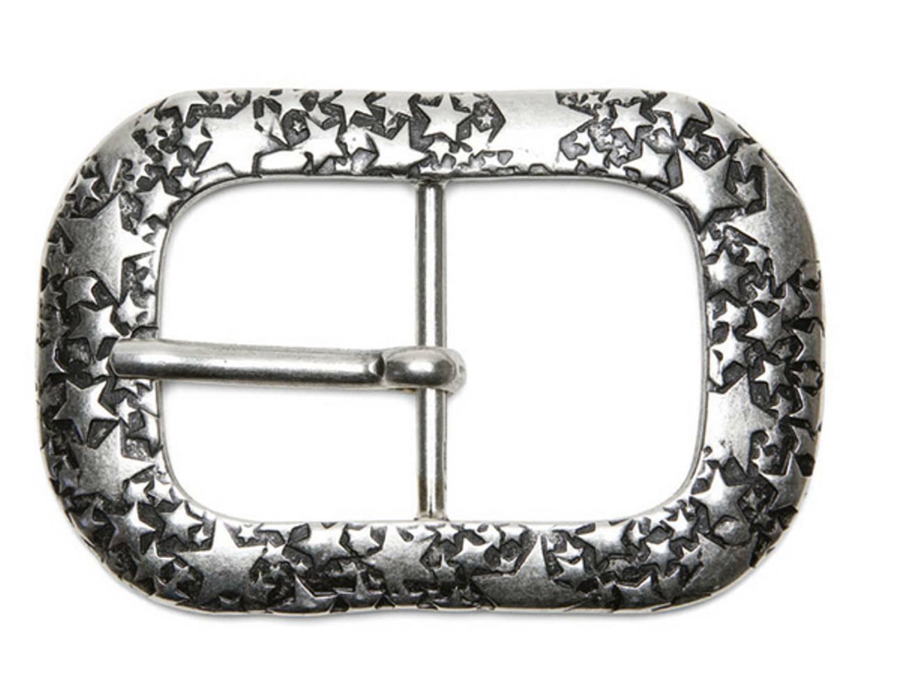 Dorn Wechsel Schließe Buckle Gürtel-Schnalle Vela Dornschließe für 4 cm Gürtel