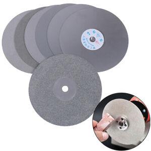 "6/"" 150mm Diamond Coated Flat Lap Disc Jewelry Polish Grinding Wheel 80~3000RIJSN"