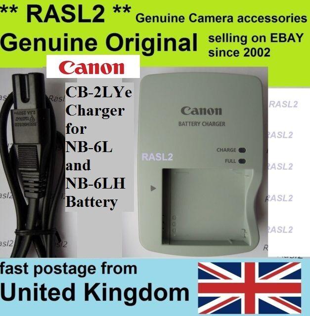 NB-6LH PowerShot SX710 SX610 SX520 SX530 SX540 HS S120 Batería ORIGINAL CANON