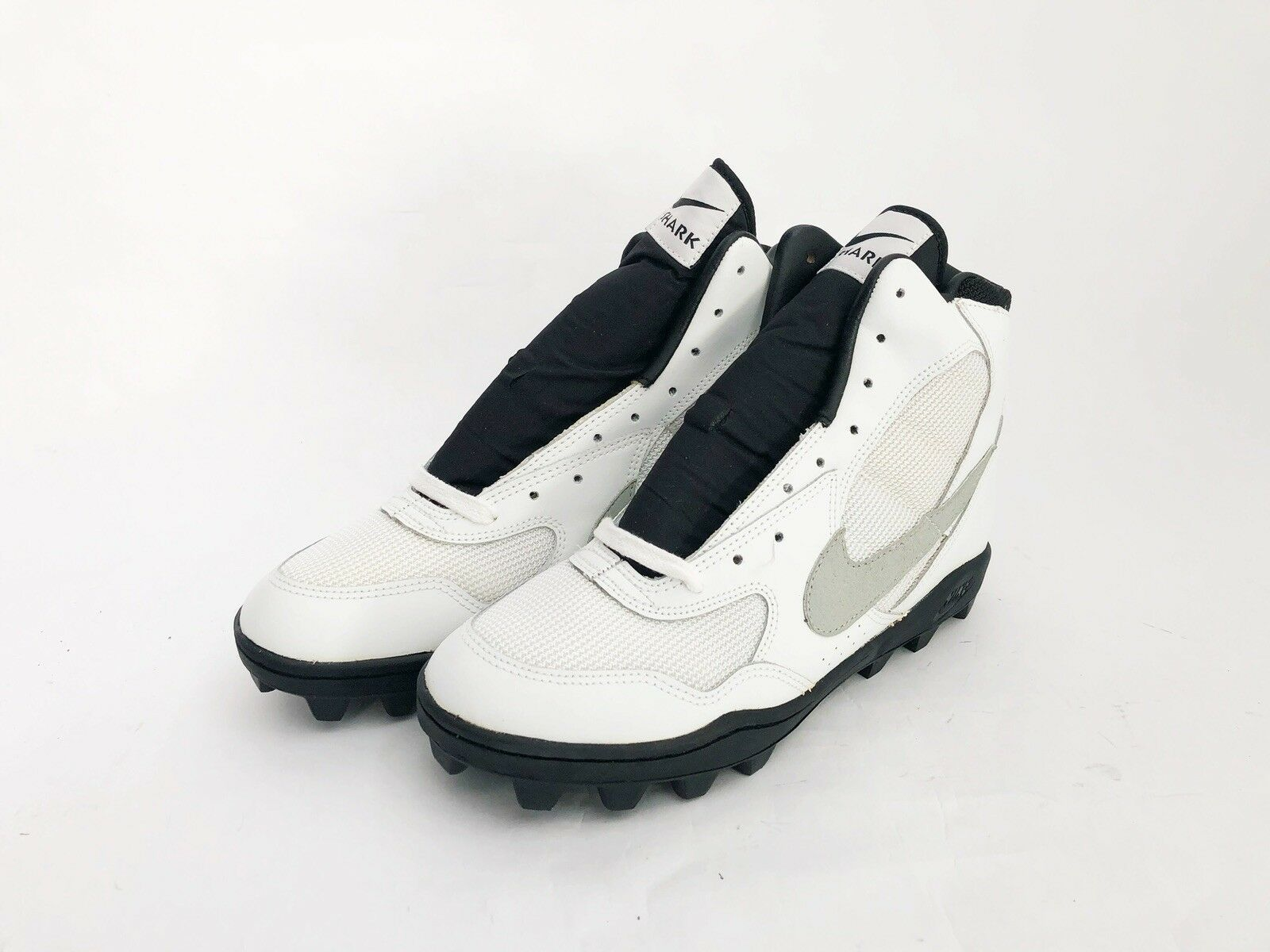 Vintage nike land shark high football cleats cleats cleats shoes men's size 8 NIB NOS 1990 5f5bd6