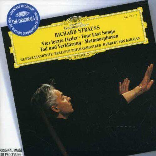 1 of 1 - Herbert von Karajan - 4 Last Songs / Death & Transfiguration [New CD]