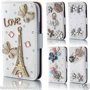 Libro-Cartera-con-Piedreria-Estilo-Diamante-Funda-para-Samsung-Galaxy-S3-S4