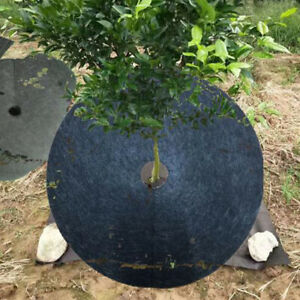 10pcs Tree Rings For Weed Control Non Woven Fabric Tree