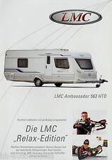 Prospekt LMC Ambassador 563 HTD Wohnwagenprospekt Wohnwagen Broschüre