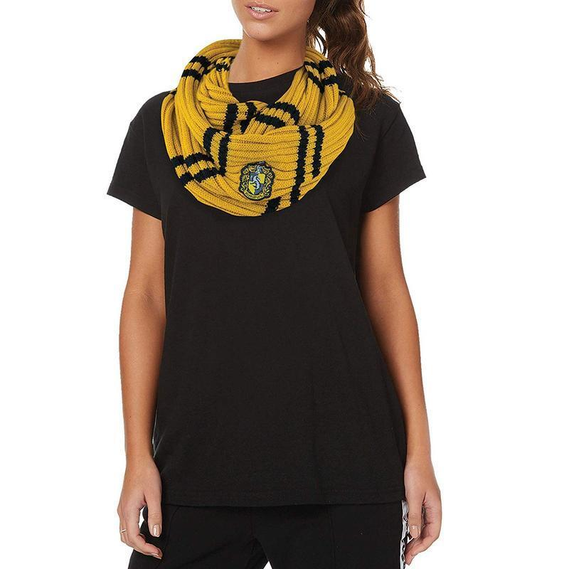 Harry Potter scarf Infinite Poutsouffle 26in hufflepuff hufflepuff hufflepuff scarf 601338 332a71