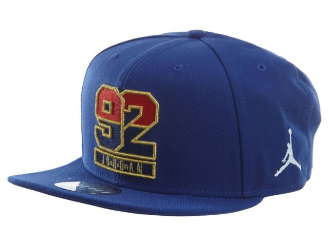 9942acf1f5f Nike Air Jordan AJ 7 1992 USA Dream Team Adjustable Hat Cap Snapback  823526-455