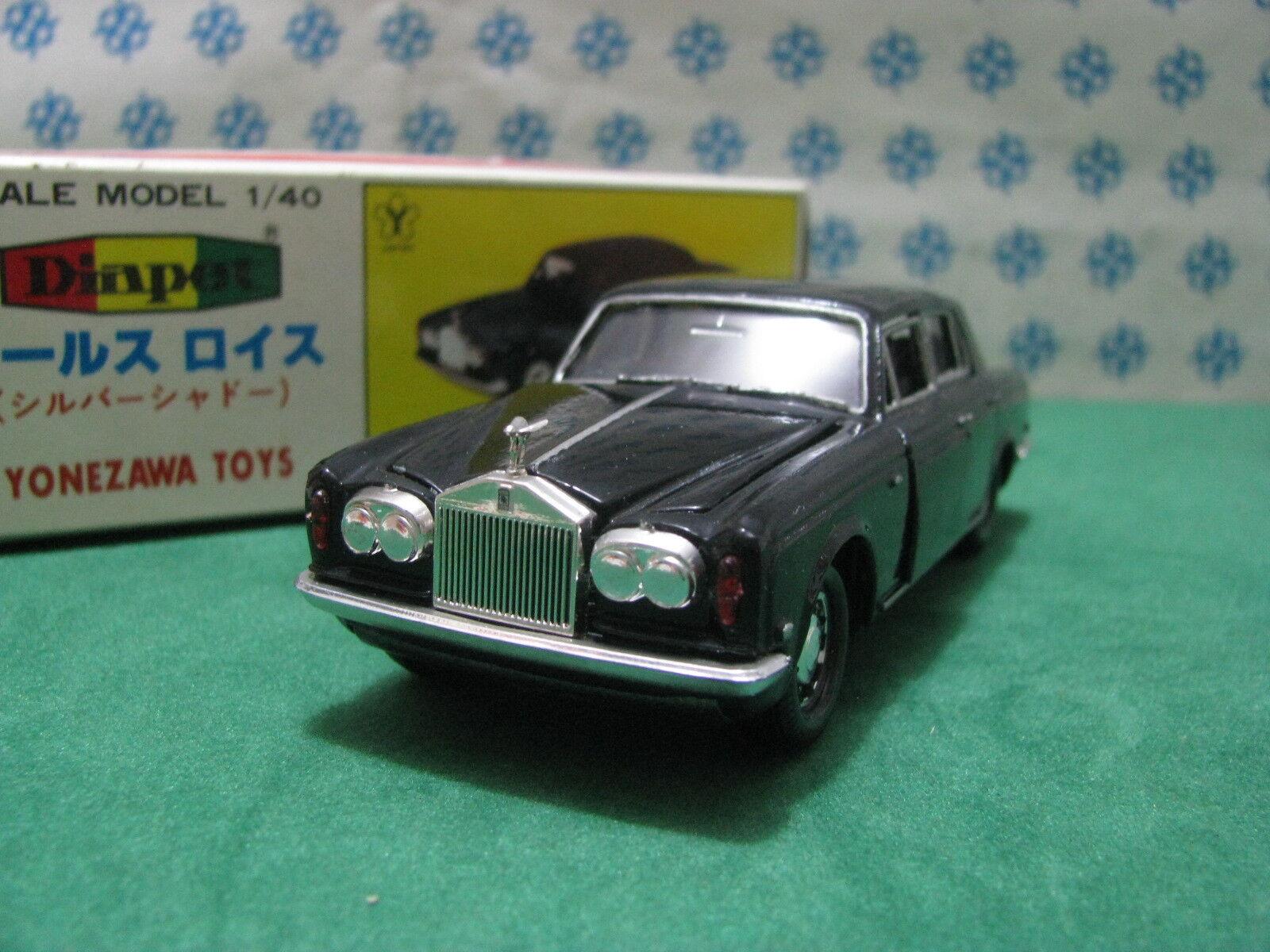 Vintage - Rolls-Royce plata Shadow - 1 40 G-71 Diapet Yonezawa Toys N° 01417