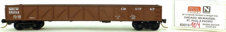 Micro Trains Line 60010 Milwaukee 80344 50' Gondola Drop Gelenkköpfe