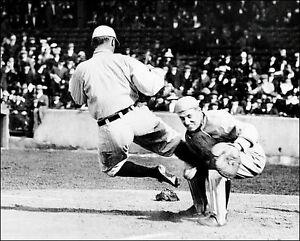 Ty-Cobb-2-Photo-8X10-Detroit-Tigers-Spikes-1920