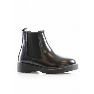 girls black boots size 12