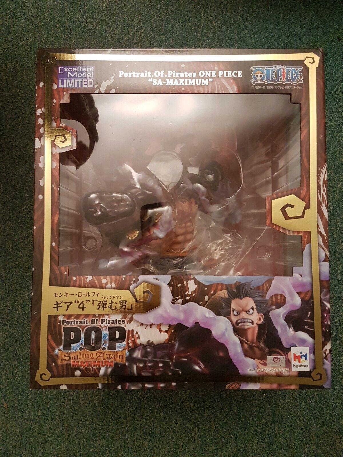One Piece Luffy  Gear 4 Bound Man Figure Portrait.Of.Pirates MegaHouse  meilleurs prix et styles les plus frais
