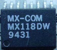 CML/MX-COM MX118DW SMD FULL-DUPLEX SCRAMBLER FOR CORDLESS